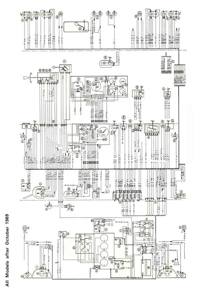 mk1 escort super wiring diagram  full set  post 1969