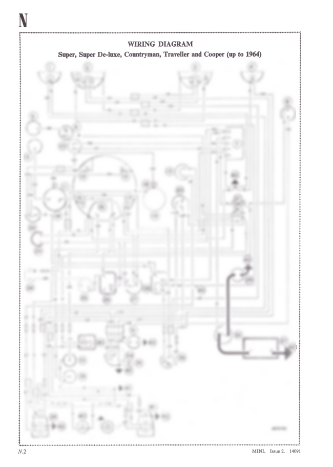 mini super  countryman  traveller  u0026 cooper wiring diagram