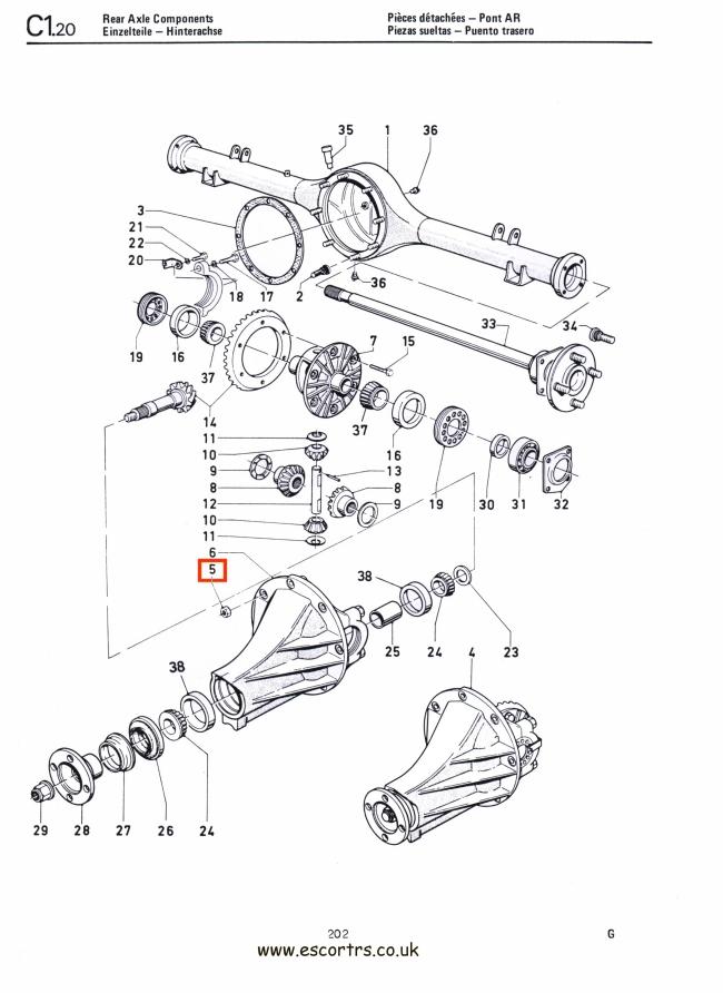 differential locking nuts  philidas  mk1  u0026 mk2 escort rs2000 1600 mexico twincam
