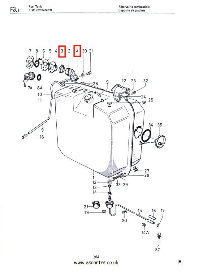 fuel filler neck clamps mk1  u0026 mk2 escort rs 2000 mexico