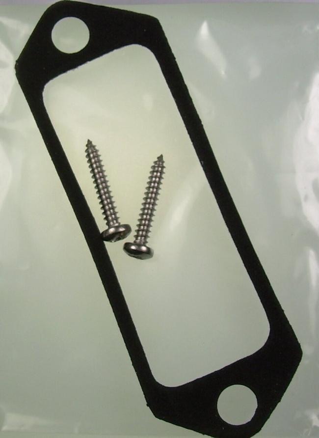 Fuse box seal stainless steel screws mk escort rs