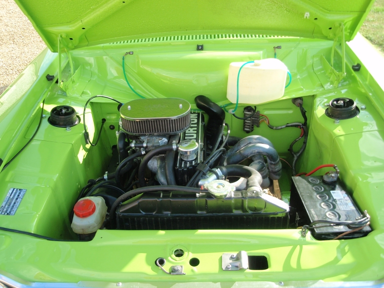 Lime Green Mk1 Escort Mexico