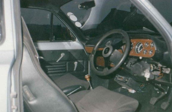 Mk1 Escort Mexico Cloth Interior With Wood Pack