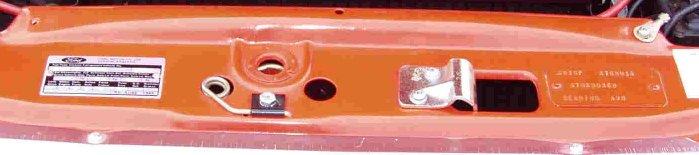 Mk1 Escort Mexico AVO Plate In Situ