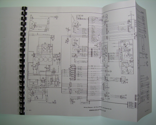 Mexico  U0026 Rs 2000 Supplementary Workshop Manual Mk1 Escort