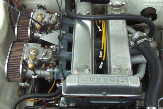 Mk1 Escort Lotus Twin Cam Engine Top View