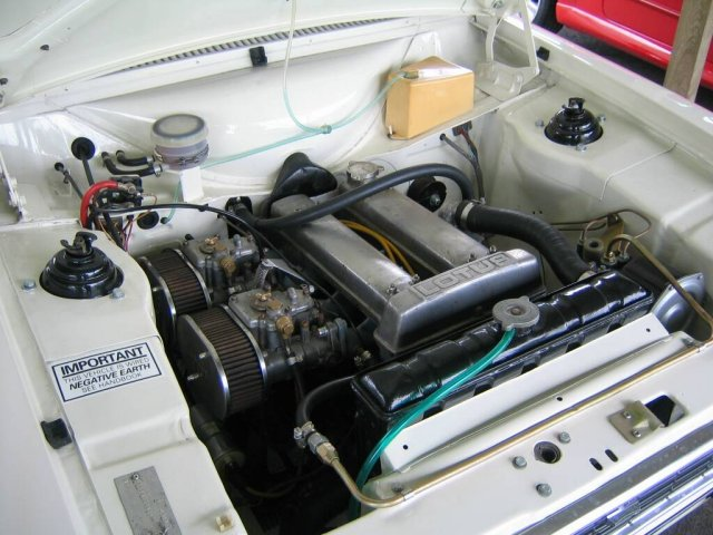 Mk1 Escort Lotus Twin Cam Engine Top View # 2