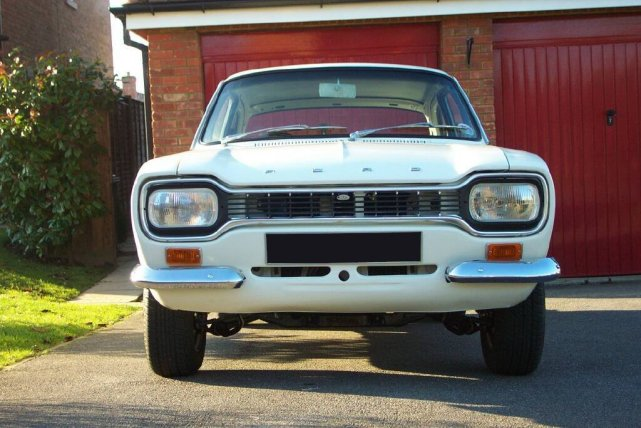 Mk1 Escort Twin Cam Front View